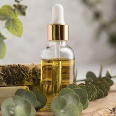 essential oil used in aromatherapy sessions